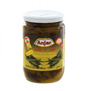 ANJAR PIMENTS FORTS Bocal 600gr
