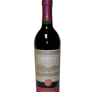 ARMENIA WINE ROUGE Bouteille 0.75L