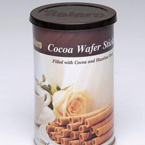 BOLERO BISCUITS CIGARETTE CHOCOLAT Boite 110gr