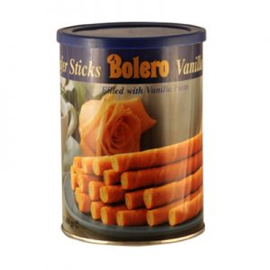 BOLERO BISCUITS CIGARETTE VANILLE Boite 400gr