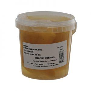 CHIRAG CITRONS CONFITS Pot 500gr