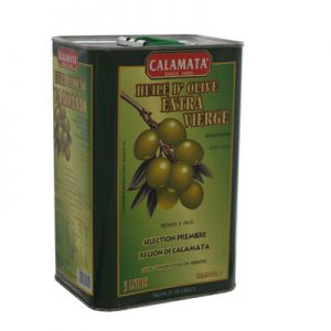 CALAMATA BRAND HUILE D'OLIVE DE KALAMATA Boite 3L