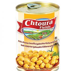CHTOURA POIS CHICHES BOUILLIS Boite 400gr