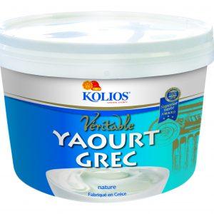 KOLIOS YAOURT GREC Seau 5Kgs