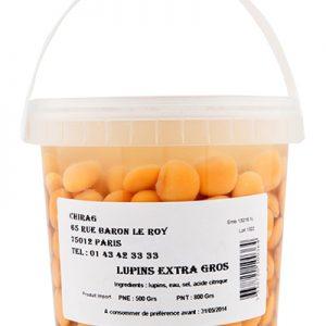CHIRAG LUPINS CUITS Pot 500gr