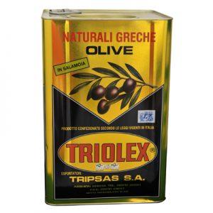 TRIOLEX OLIVES CALAMATA GEANTES 14/16 Bidon 12Kgs
