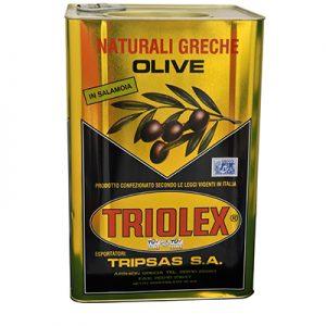 TRIOLEX OLIVES CALAMATA S.COLOSS. 11/12 Bidon 12Kgs