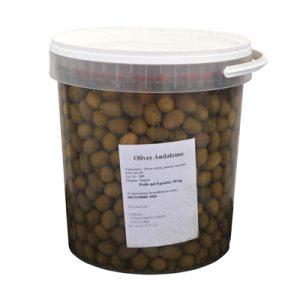 CHIRAG OLIVES ANDALOUSES 7/9 Seau 10Kgs