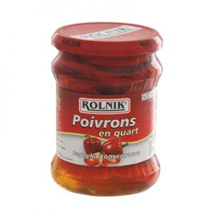 ROLNIK POIVRONS ROUGES QUART Bocal 500ml