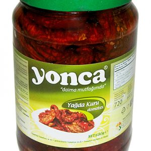 YONCA TOMATES SECHEES GRILLEES Bocal 720ml