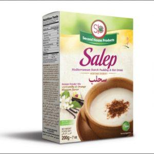 SAHLAB (préparation instantanée)  SECOND HOUSE